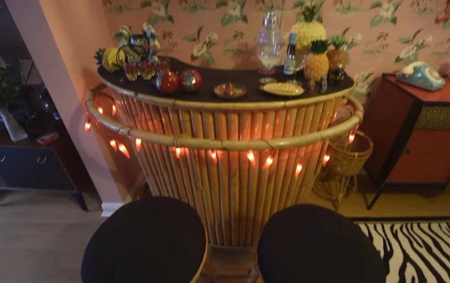 Tiki-Themed Cocktail Bar