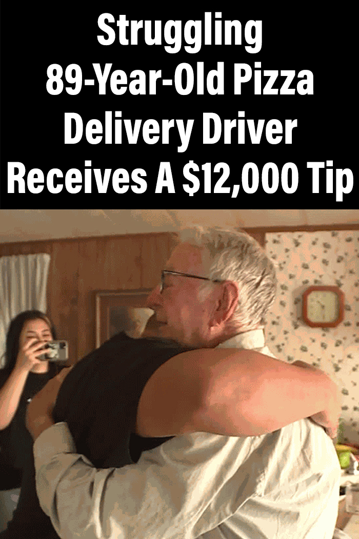 Struggling 89-Year-Old Pizza Delivery Driver Receives A $12,000 Tip