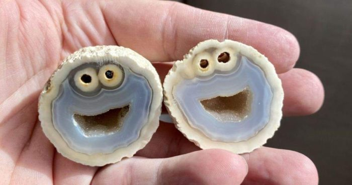 'Cookie Monster' Rock Found By Gemologist In Brazil