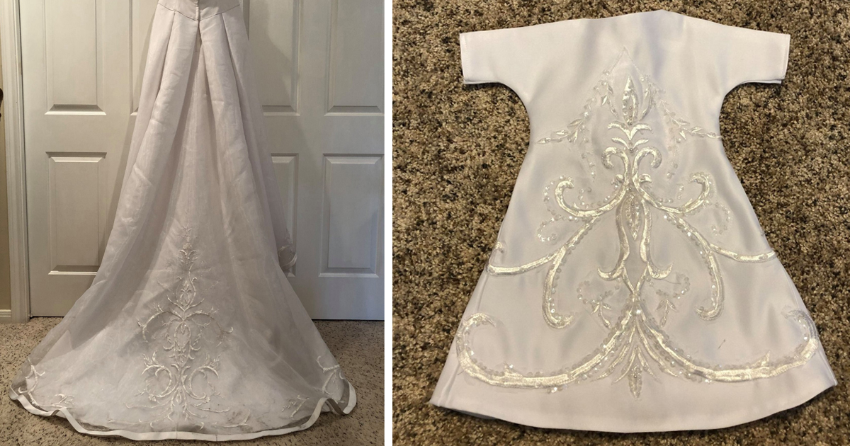 Angel Gowns Project Turns Donated Wedding Dresses into Infant Burial Gowns