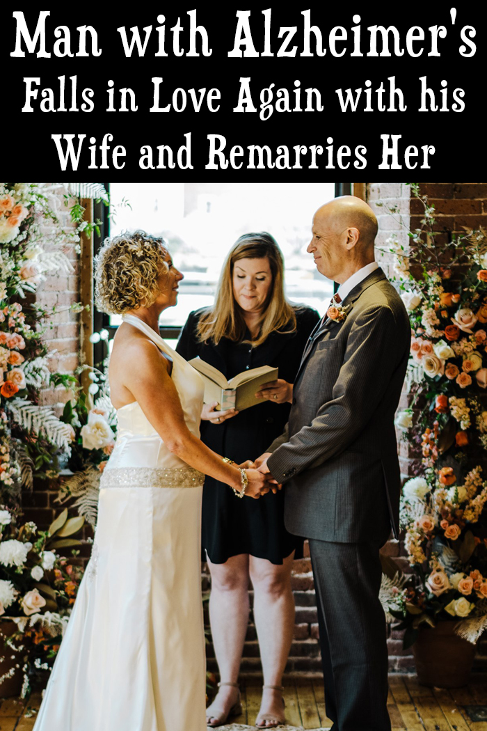 Man with Alzheimer's Falls In Love With His Wife Again and Remarries Her